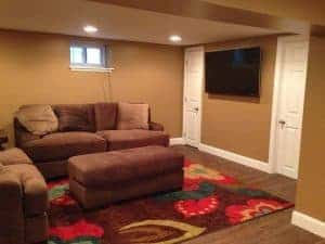 basement-remodel, basement makeovers, basement makeover ideas