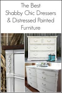 shabby chic dressers, chic dressers, shabby chic furniture, how to paint shabby chic, painted dressers