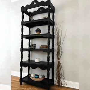 black-painted-vintage-etagere