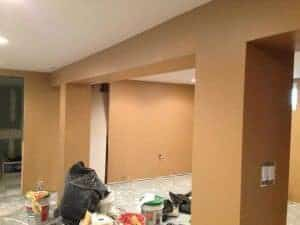 burnt-almond-paint, painted walls