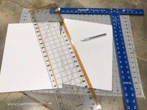 cut-boards-to-size, t square, how to cut boards to size