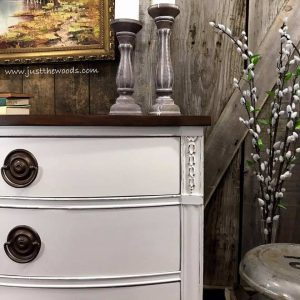 distressed-painted-dresser, white painted dresser, white painted furniture