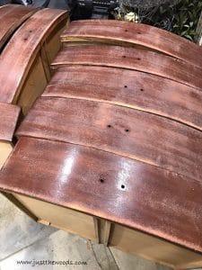 drawers-bleed-through, bleed through, painted furniture