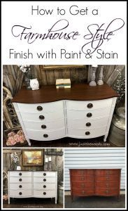 farmhouse-style-paint-and-stain, white painted dresser, drexel