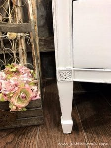 floral-carving, distressed dresser, painted dresser, white painted furniture, staten island