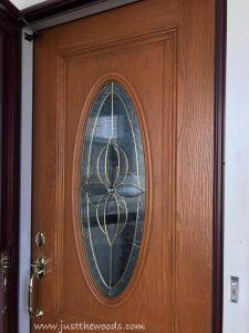 front-door, spring wreaths, door decor, staten island, curb appeal