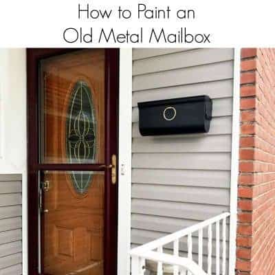How to Paint an Old Metal Mailbox