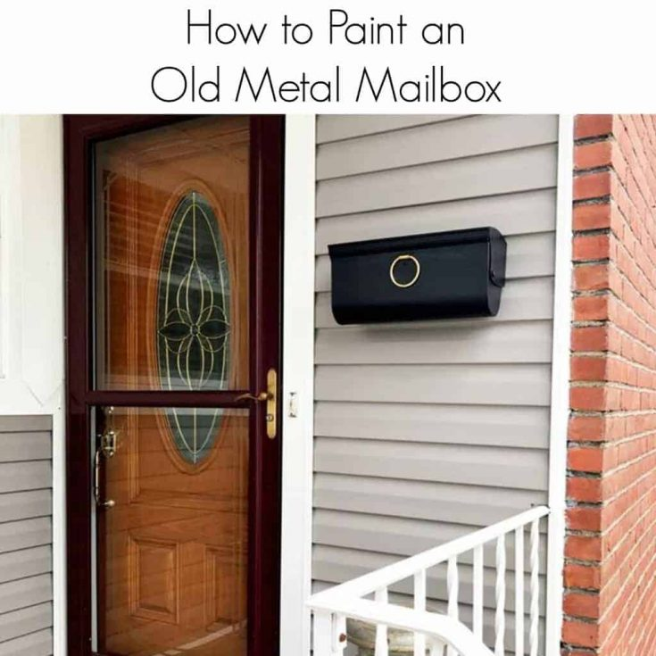 How to Quickly Update Your Metal Mailbox with Paint