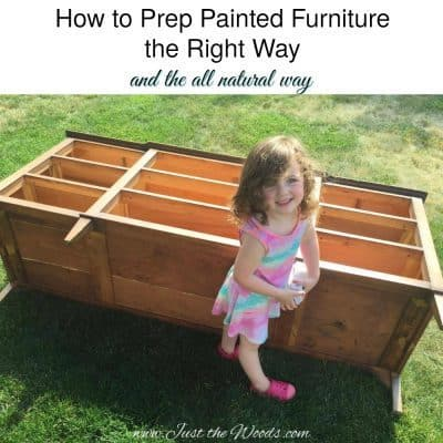 How to Prep Painted Furniture the Right Way