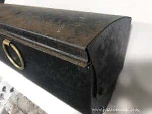 original-rusty-mailbox, how to paint a mailbox, rusty mailbox, paint metal