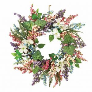 pastel-berry-greenery-wreath