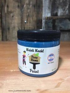 pure-home-paint-sailor, blue chalk paint