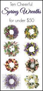 spring-wreaths-under-50