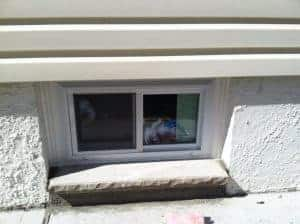 window-sills-and-trim, installing new basement windows, staten island
