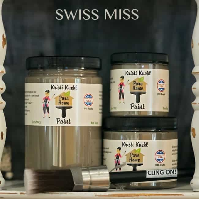 swiss miss pure home paint finishes non toxic paint products. Black Bedroom Furniture Sets. Home Design Ideas