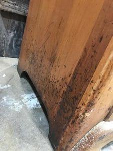 beaten-up-wooden-furniture, damaged wood