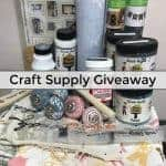 Craft Supply Giveaway – Win a Box of Craft Goodies