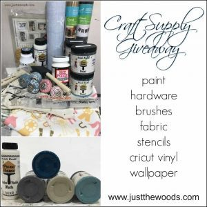 craft-supply-giveaway-box, just the woods, craft supply giveaway