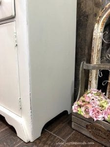 creamy-off-white-painted-furniture, shabby chic cabinet, painted cabinet, staten island