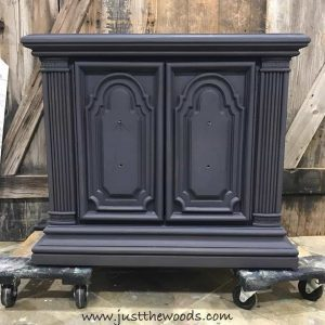 custom-purple-gray-paint, chalk paint, pure home paint