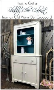 how-to-get-a-shabby-chic-cabinet, shabby chic cabinet, just the woods, staten island