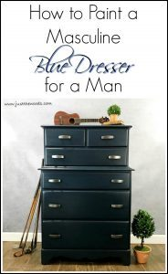 how-to-paint-dresser, how to paint a dresser, blue dresser, new york