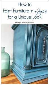 how-to-paint-in-layers, painted furniture, layering paint, how to layer chalk paint