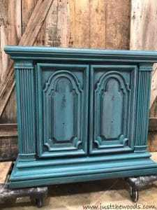 layer-of-jade, painting layers, layering paint on furniture, diy, blue painted furniture