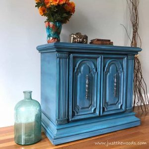new-york-painted-furniture, painted accent piece, ornate vintage furniture