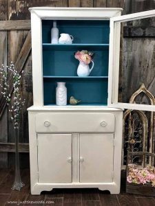 new-york-shabby-chic-painted-furniture, shabby chic cabinet, new york