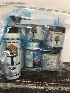 packaged-paint, Craft Supply Box Giveaway, pure home paint, giveaway, free paint, chalk paint