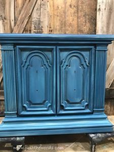Chalk Paint Blue Painted Furniture