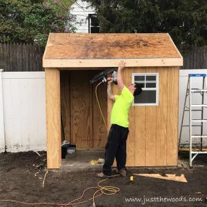 add-fascia, build a shed