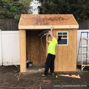 add-fascia, build a shed