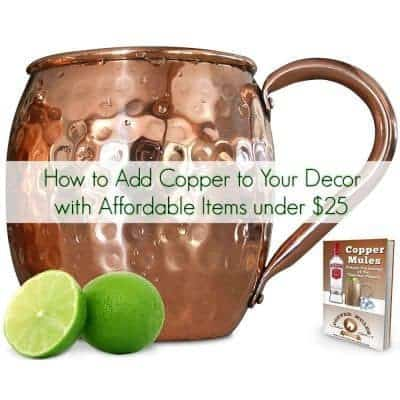 How to Add Copper to Your Decor with Affordable Items under $25