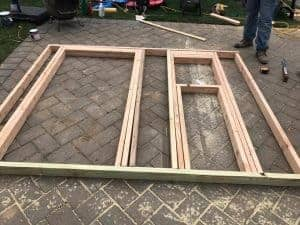 building-frame-for-shed-door-and-window