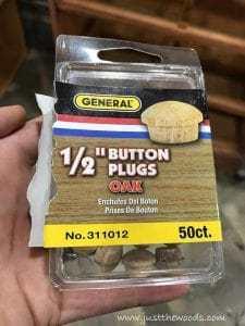 button-plugs, button plug, repair vintage furniture