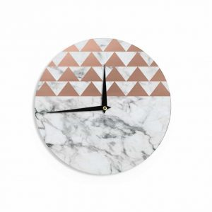 copper-and-marble, copper clock, home decor