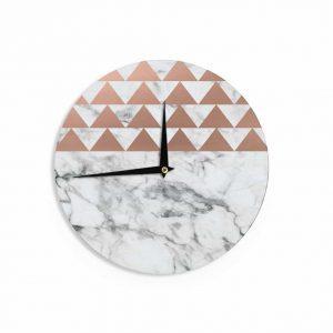 copper-and-marble, copper clock, home decor