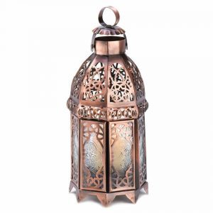 copper-candle-holder-lantern, copper home decor