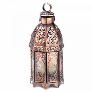 copper-candle-holder-lantern, copper home decor