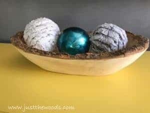 decor-balls, home decor, dough bowl