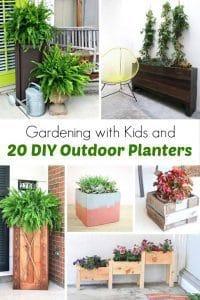 diy-outdoor-planters, outdoor planters, diy, gardening