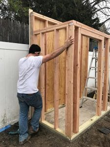 fit-side-walls-in-between-front-and-back-walls, build a shed from scratch
