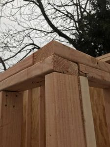 framed-corners, build a shed,