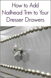 how-to-add-nailhead-trim-to-drawers