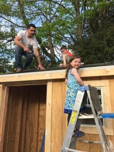 how-to-shingle-roof, roofing with kids