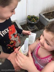 kids-planting-garden, gardening with kids