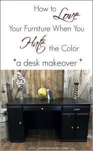 love-your-furniture, desk makeover