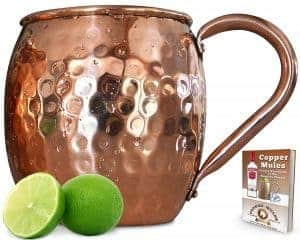 mule-mugs, copper mugs, copper decor